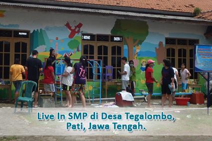 Kegiatan Live in Kelas IX di Desa Tegalombo, Kabupaten Pati, Jawa Tengah