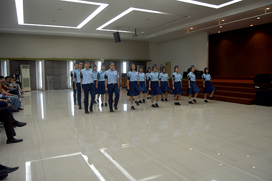Fancy Drill oleh Boys' Brigade